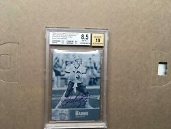 2009 Ud Ultimate Collection 1997 Legends Auto Print Plate Bgs 8.5 1/1 Dan Marino