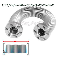 35 Typle Cf Ss 304 Details About Cf Flange Stainless Steel Vacuum Flex Bellows