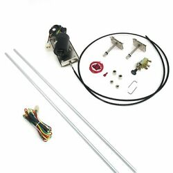 1949-61 Lincoln Wiper Kit W Wiring Harness Brand New Cowl Vent Power Hot Rod 12v