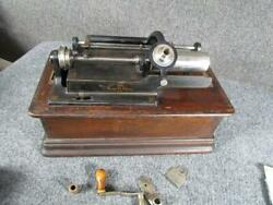 Antique Model D Edison Phonograph Record Player..for Restoration