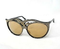 IDC 103 sunglasses rhinestones crystals vintage oversize women party festival