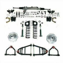 Mustang Ii Ifs Kit With Power Steering For 55-57 Chevy Bel Air Front Suspension