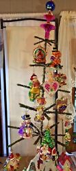 Christopher Radko Ornament Of The Monthapriland03901thru Marchand03902 +topper