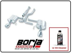 Borla Cat-back Exhaust S-type W/ss Cleaner For 05-09 Subaru Legacy Gt 140123