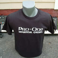 Sequential Circuits - Pro One - T Shirt - Drone Moog Analog Synth Synthesizer