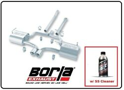 Borla Cat-back Exhaust Touring W/ss Cleaner For 04-08 Cooper S 140120