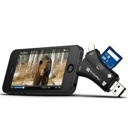 Trail Camera Card Reader Viewer For Iphone Ipad Mac And Android Sd And Micro Sd