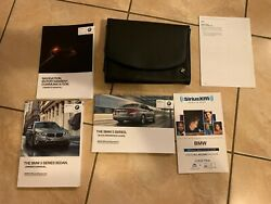 2014 Bmw 5 Series Owners Manual Guide Book With Case Oem