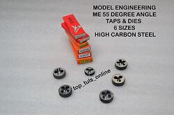 Stuart And Turner, Mamod And Other Live Steam Engines Me Tap Set 3/16 To 3/8