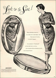 1954 Vintage Fashion Ad Look For Sanforized On Clothing Labels Non Shrink 051519