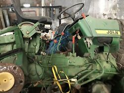 John Deere 850 Tractor Parts Andldquoselling Parts Or All That Is Leftandrdquo