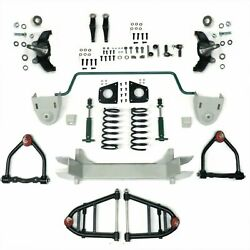 Mustang Ii 2 Ifs Front End Kit For 28-47 Ford W Shocks Springs Swaybar