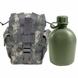 Acu Molle Ii Canteen / General Purpose Pouch - Euc And New 1-quart Canteen Set