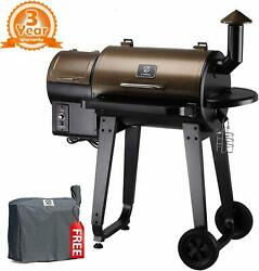Grill Smoker Bbq Grill Temperature Control Outdoor Cooking Burger Baker Hot Dog