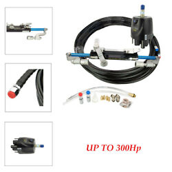 300hp Hydraulic Outboard Steering Boat Steering Cylinder Helm 27 Capacity Cm3