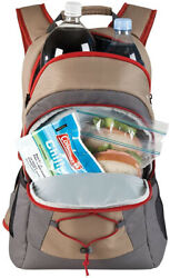 Coleman Soft Cooler Backpack 28 Can Picnics BBQs Camping Tailgating Outdoor $35.69