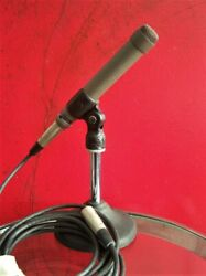 Vintage 1968 Electro Voice 654a Dynamic Microphone 150 Ohm W Accessories 655c