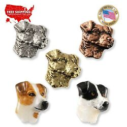 Creative Pewter Designs Jack Russel Terrier Dog Lapel Pin or Magnet D106