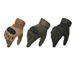 Tactical Military Gloves Men Winter Autumn Army Swat Full Finger Outdoor Cycling