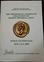 The Frederick S Knoblock Collection Of Roman Imperial Coins Stacks Rare Coin Au