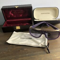 Louis Vuitton OG Millionaire Purple Sunglasses New Kanye Yeezy Pharrell Virgil