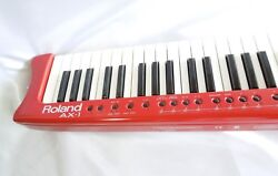 Rolands Ax-1 Red Keytar Midi Controller Keyboard Excellent+++ From Japan 2019