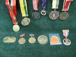 Lot Of 12 Lithuanian Sports Medals