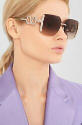 Brand New 2020 Valentino Sunglasses VA 2038 300313 Women Authentic Frame Italy