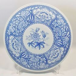 Spode Blue Room Collection Floral Cake Plate Blue And White China Floral Cake