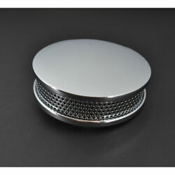 Smooth Chrome Round Air Cleaner For Bendix-keihin Harley Sportster Dyna Softail