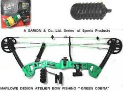 Marlowe Design   Bow with ADS REEL Retriever & Fishing ARROW PRICE REDUCED!!
