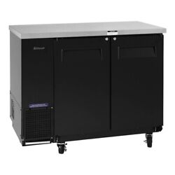 Turbo Air Tbb-24-48sb-n6 49 Two Section Back Bar Cooler With Solid Door, 12....