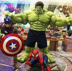 The Avengers Hulk Muscle Mask Costume boys Cosplay kids Thanos  Fantasy Clothes