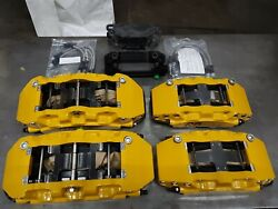 Porsche 991 Gt3 Pccb Front And Rear Upgraded 6/4 Pot Calipers 410/390mm Rb Brakes