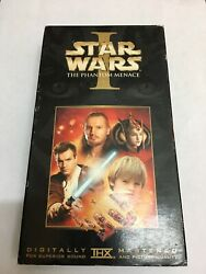 Star Wars Episode I The Phantom Menace Vhs 2000, Widescreen Collectors Edition