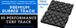 Hi-performance Turf Rubber Track Case 445ct / 450ct / Tr320 / Tr380