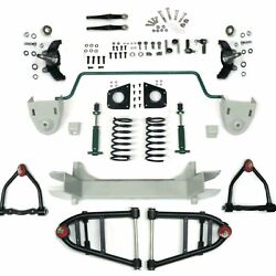 Mustang Ii 2 Ifs Front End Kit For 60-66 Chevy Truck W Shocks Springs And Swaybar