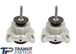 Pair Ford Transit Mk8 Engine Mount 2.0 Rwd Panther Ecoblue Engines 2016 On