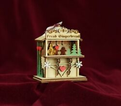 Ginger Cottages Ginger Market Christmas Ornament Made In Usa Gc129
