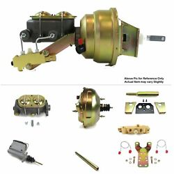 1960-62 Chevrolet Truck Manual Fw Mount Power 11 Dual Booster Kit Disc/drum