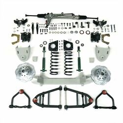 1949 50 51 52 53 54 Chevy Truck Mustang Ii Ifs Front End Kit Suspension Manual +