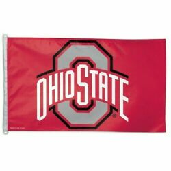 Ohio State Buckeyes 3'x5' House Flag Wall Banner Mlb Licensed Free Shipping