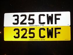 325 Cwf Private Registration On Retention Certificate
