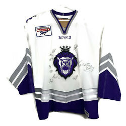 Reading Royals Hockey Jersey Adult Sewn Sweater Nhl Ccm Size 56 Autographed
