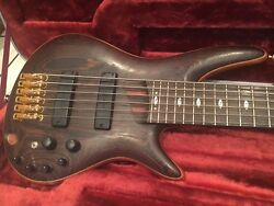 Ibanez Sr5006 Soundgear 6 String Electric Bass Guitar Made In Japan W/ Case Nice