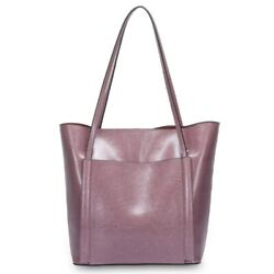 Women Pu Leather Totes Designer Style Single Shoulder Shopping Bag