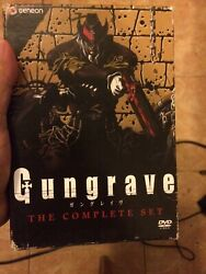 Gungrave - The Complete Series Dvd, 2009, 7-disc Set, Thinpakdvds Nice