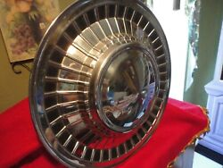 Galaxie 1961 Orig Wheel Cover Great Shape Very Shinny Low Price Too..