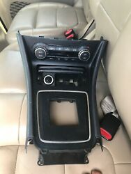 Front Counsle Cover Trim With Temp Climate Control Fits Mercedes CLA great shape