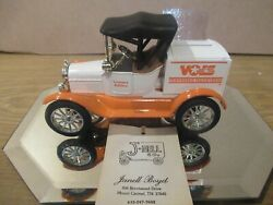 Vintage Tenn Vols Die Cast 125 Scale 1 Of 19 1918 Ford Model T Runabout Mint